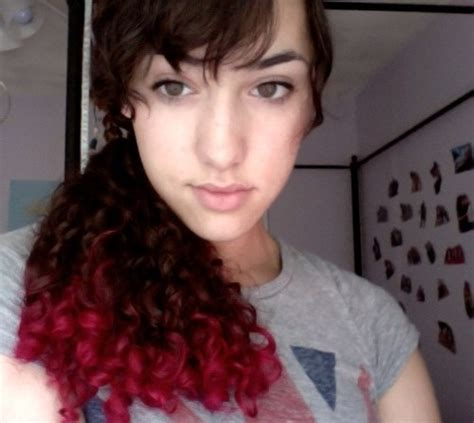 dyed curly hairstyles 17 best images about hair and makeup ideas on pinterest