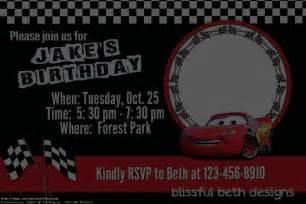 cars birthday invitations printable free invitations ideas