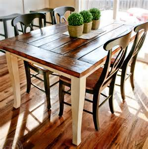 Best Finish For Kitchen Table Home Dzine Home Decor Dining Table Top Makeover With Rustic Finish For Farmhouse Style