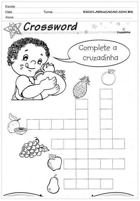 Atividades de Inglês 2º ano - Para Imprimir - Educação
