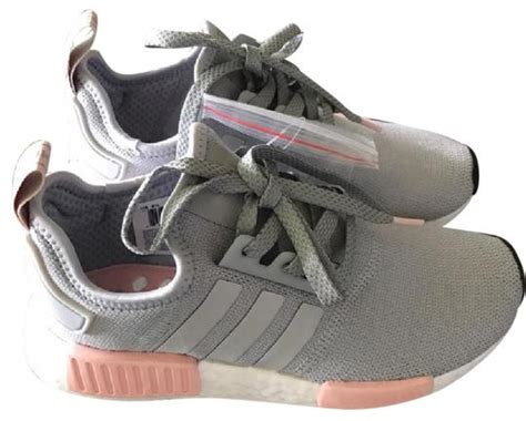 adidas nmd1 vapour grey and pink athletic shoes athletic on sale