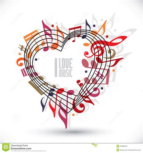 im free souljah music on 1 musica gratis i love music heart made with musical notes and clef