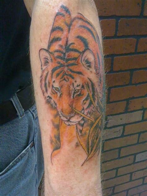 62 Best Tiger Tattoos On Forearm Colorful Cool Arm New Pattern For 2011 12