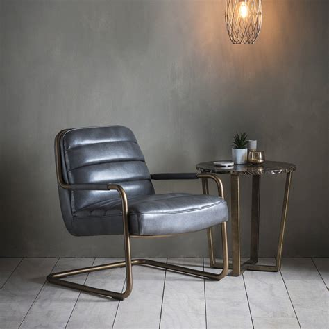Black Leather Lounge Chair by Black Leather Lounge Chair By The Forest Co
