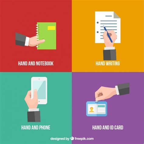 id card template freepik bedrijf verschillende dingen vector gratis