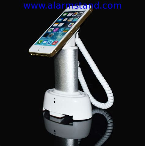 Alarm Display Handphone comer anti theft cable locking devices retail display