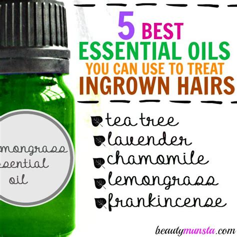 essential oil for ingrown hair essential oil for ingrown hair a diy remedy for ingrown