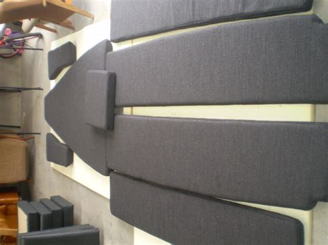 Seat Upholstery Melbourne by New Seat Cushion Covers For A Yacht By Jaro Upholstery