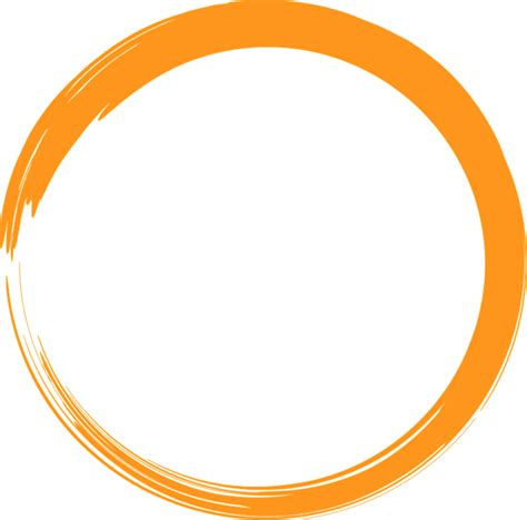 orange circle logo  image  pixabay