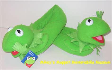 kermit slippers mikey s muppet memorabilia museum muppets 1990 1999
