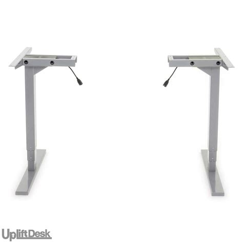 space saving standing desk shop uplift 925 space saver height adjustable standing