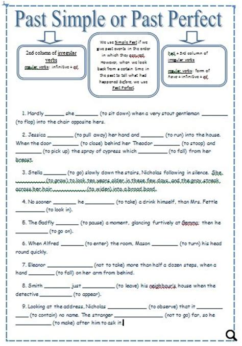 all worksheets 187 past perfect and past perfect continuous past simple or past perfect upper intermediate and advanced