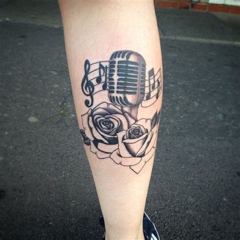 microphone tattoo thumb best 25 microphone tattoo ideas on pinterest mic tattoo