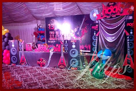 themed birthday party supplies online pakistan rock star party ideas in lahore pakistan