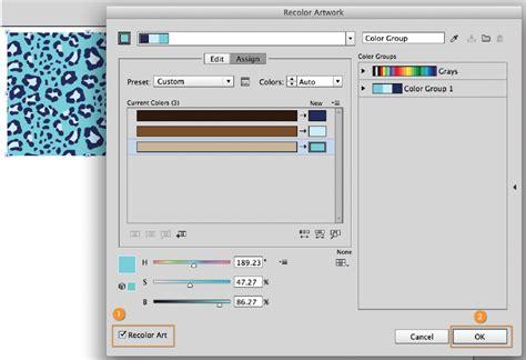 pattern color change illustrator how to color patterns in illustrator tractorgirl com au