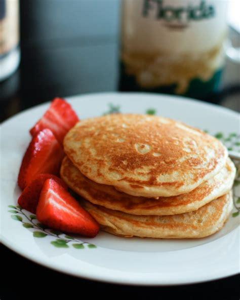 whole grain yogurt pancakes yogurt pancakes recipe dishmaps