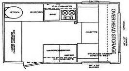 Casita Travel Trailer Floor Plans Casita Floor Plans