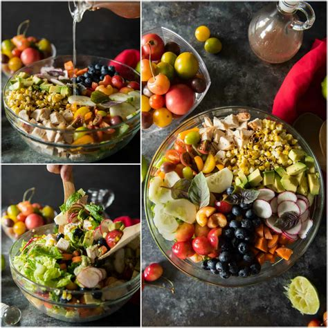 Summer Kitchen Salads summer chopped salad with honey lime vinaigrette the