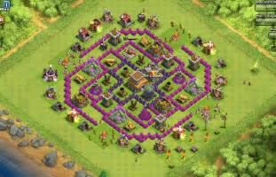 22 th8 farming base 4 mortars skeleton traps