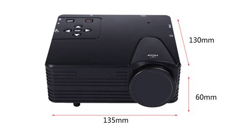 Proyektor Mini Lz H80 lz h80 portable home led frosted projector mini projector 640 x 480 pixels 80 lumens support av