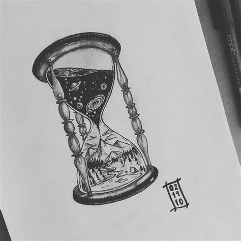flowing tattoo designs hour glass idea the sand flowing in it but