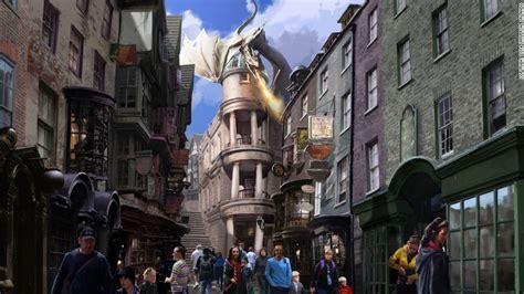 theme park harry potter first look at new wizarding world of harry potter cnn com