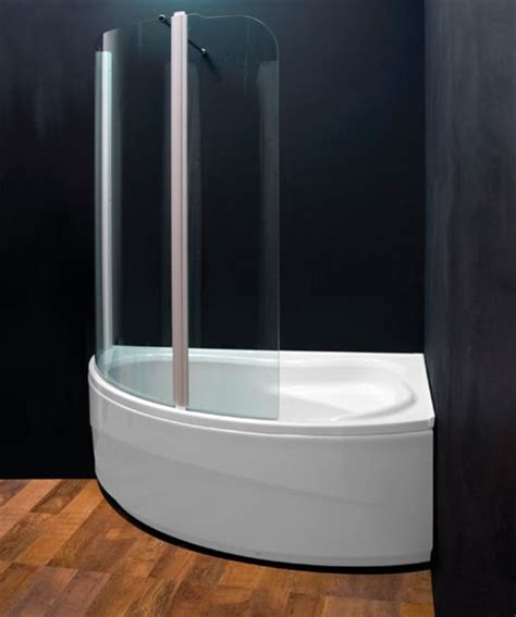 corner bath with shower screen aquaestil comet 150 x 100 corner bath shower screen ebay