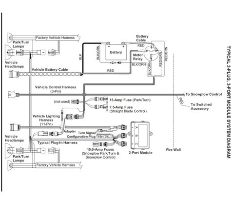 western ultramount snow plow wiring diagram engine