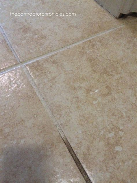 easy way to clean bathroom tiles how to quickly clean tile 23 copy grout pinterest