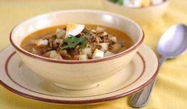 comida tipica de venezuela: sopa de picadillo venezolano
