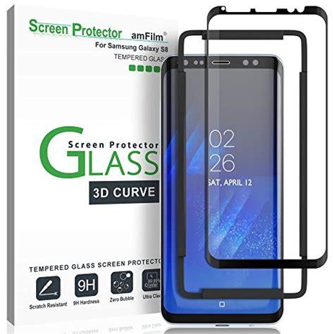 galaxy  screen protector glass amfilm  curved dot
