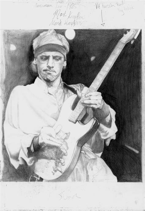 An American Knopfler Knopfler American Tour 1985 Scetch Hq By Yankeestyle94 On Deviantart