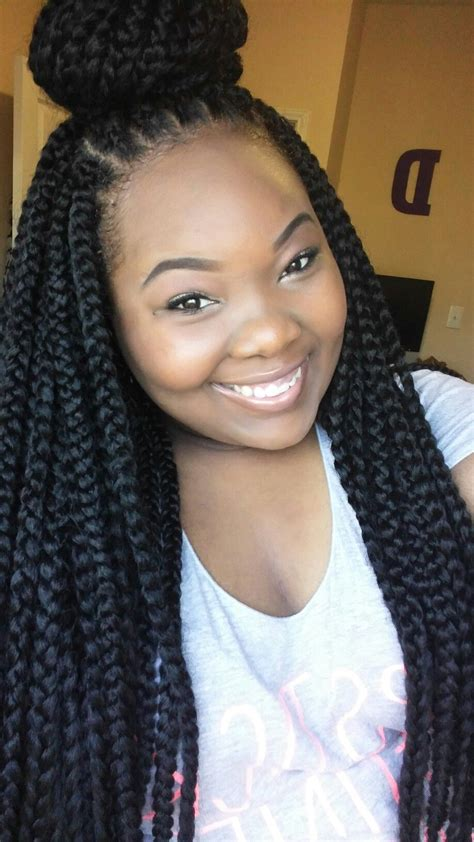 box braid hair pack crochet braids freetress long box braids 7 packs