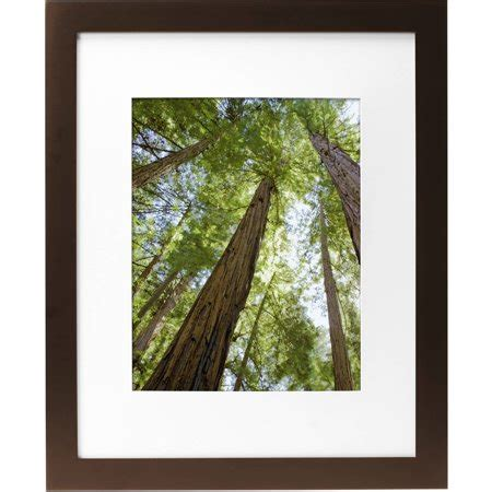 10 X 16 Matted Frame by Mainstays Museum 16 Quot X 20 Quot Matted To 11 Quot X 14 Quot Solid Wood