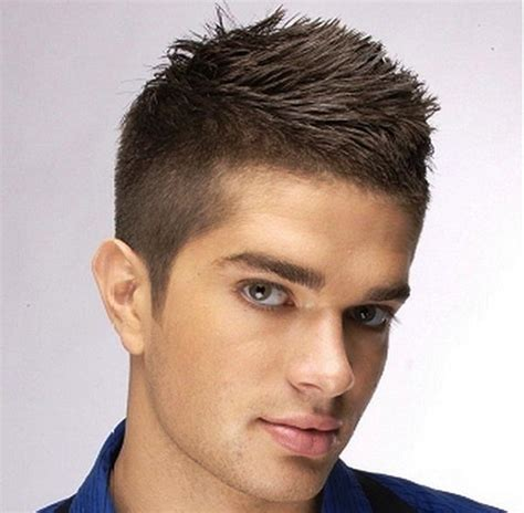 haircuts for men short curly hair with gel short hair men hairs picture gallery