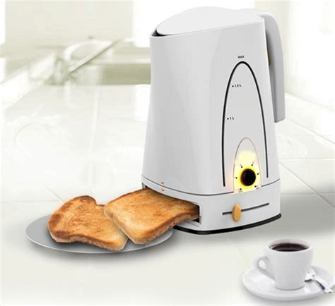 Best Kettle And Toaster breakfast made easy invention combines kettle and