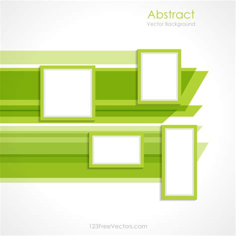 layout free vector download abstract green rectangle background vector design by