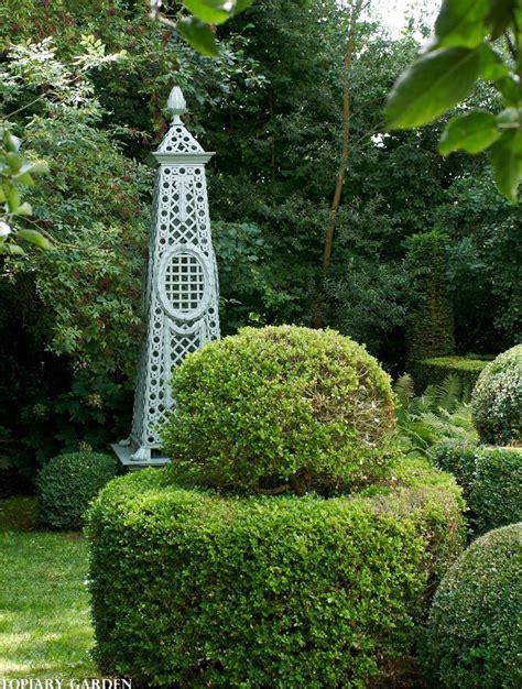 obelisk climbing plants trellised garden obelisk created to support climbing