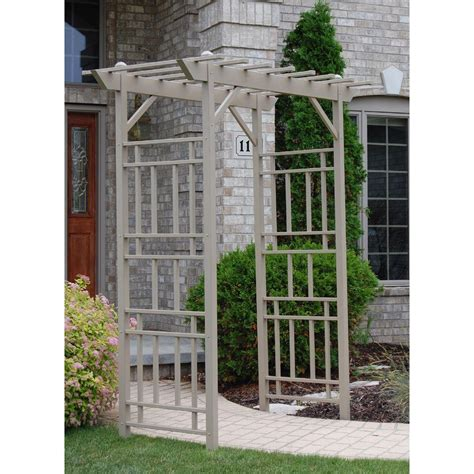 garden arbor with gate arbors trellises garden center