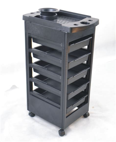 rolling tray drawer organizer rolling salon spa trolley storage removable drawer tray