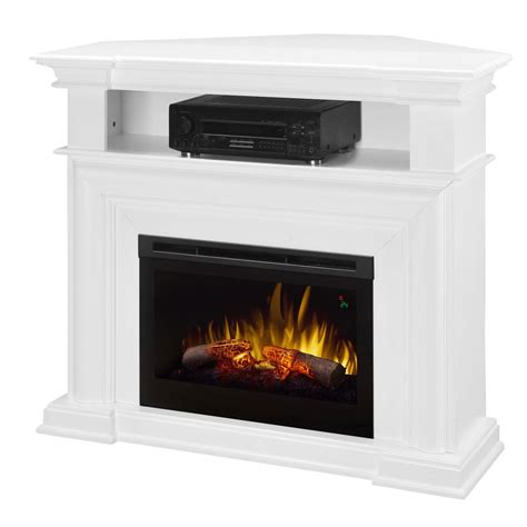 Large Corner Electric Fireplace by 48 25 Quot Colleen Wall Or Corner Electric Fireplace Media