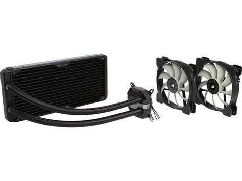 Corsair Hydro Series H115i Water Cooler 1 corsair hydro series h115i performance liquid cpu cooler 280mm cw 9060027 ww newegg
