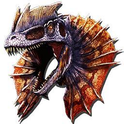 dilo mask skin official ark survival evolved wiki