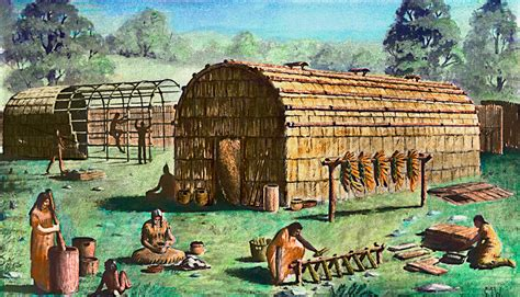 house of leng native american longhouse the native americans