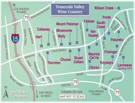 map of wineries in temecula valley wine country wilson creek temecula