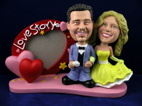 bobblehead picture frame prom date with frame bobbleheads
