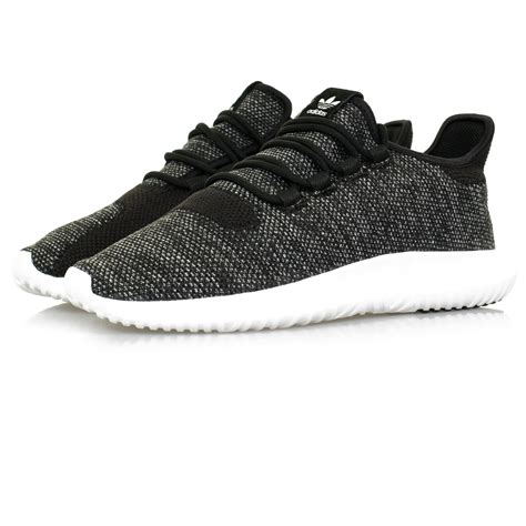 Adidas Tubular Shadow Knit Black Original adidas originals tubular shadow sneakers knit black shoe