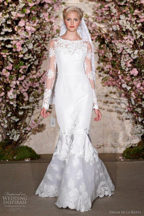 Ruched Draped Skirt Oscar De La Renta Spring 2012 Wedding Dresses Wedding