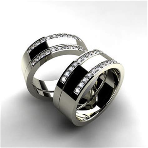 best wide band wedding rings for products on wanelo