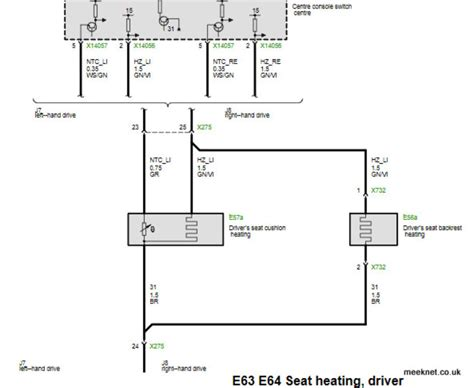 bmw heated seats wiring diagram 31 wiring diagram images